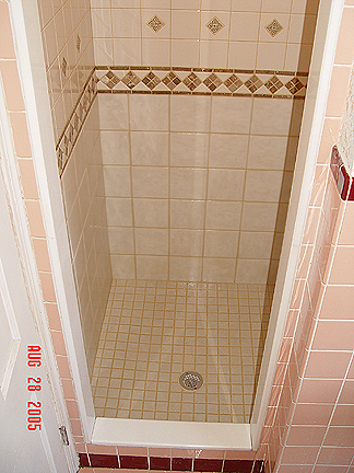 Seimourshower - 36 inch marble tile